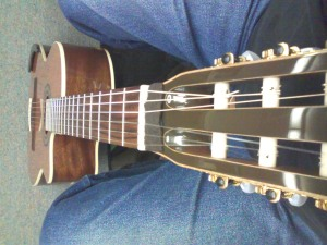 Matt's LaPatire nylon-string
